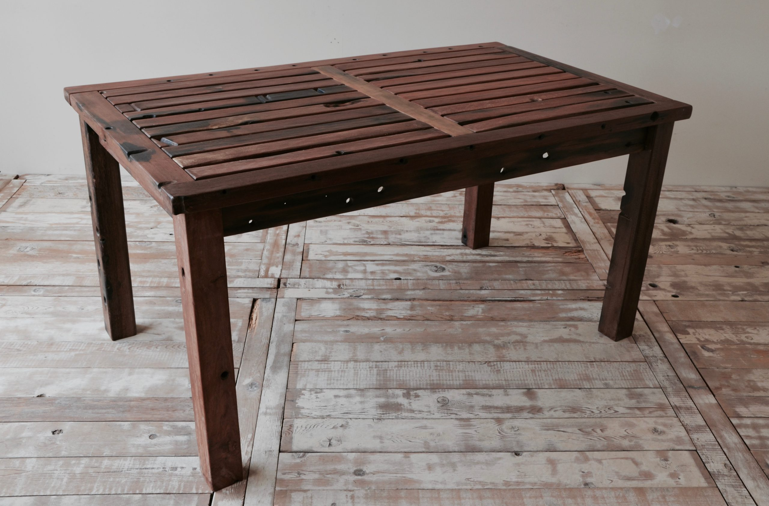 C3011KD-1 Reclaimed Old Boat Wood Furniture