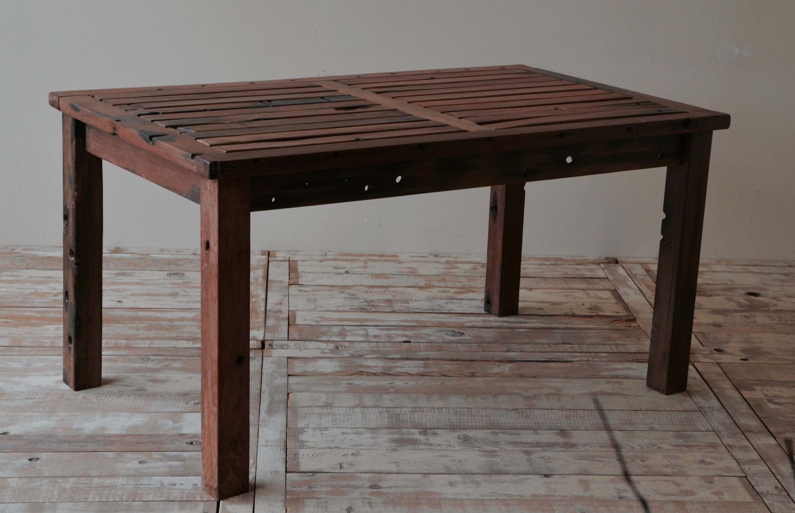 C3011KD-2 Reclaimed Old Boat Wood Furniture