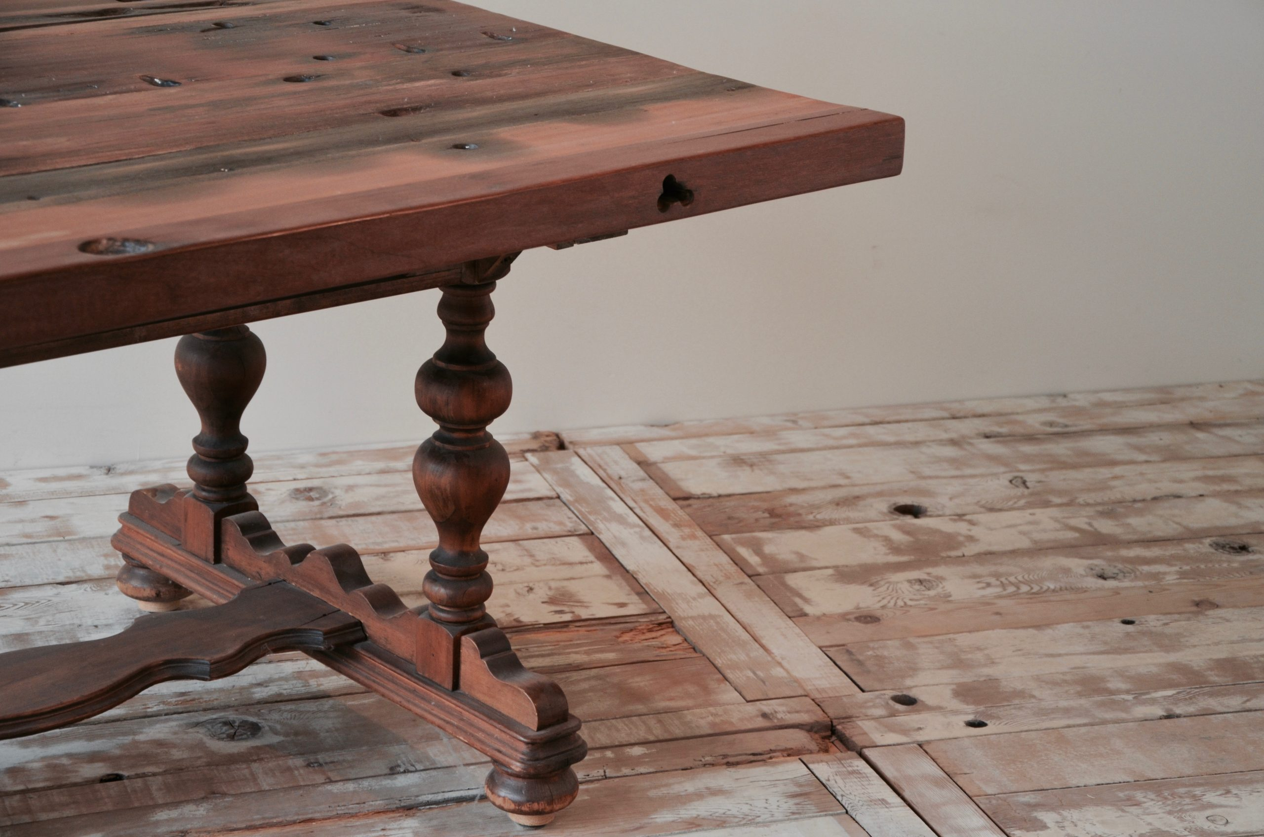 PS110101-TOP-CB-2 Reclaimed Old Boat Wood Furniture
