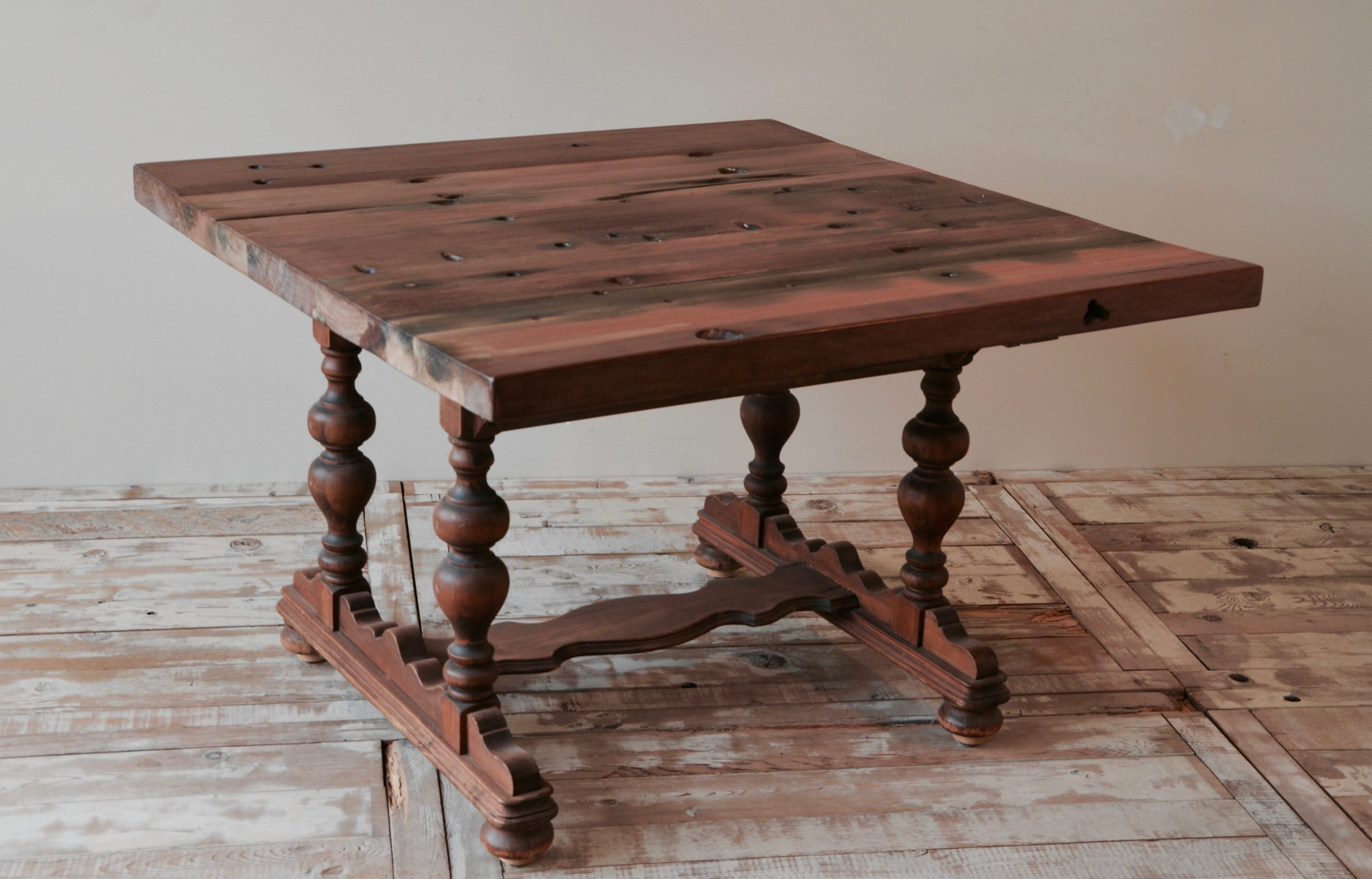 PS110101-TOP-CB-3 Reclaimed Old Boat Wood Furniture