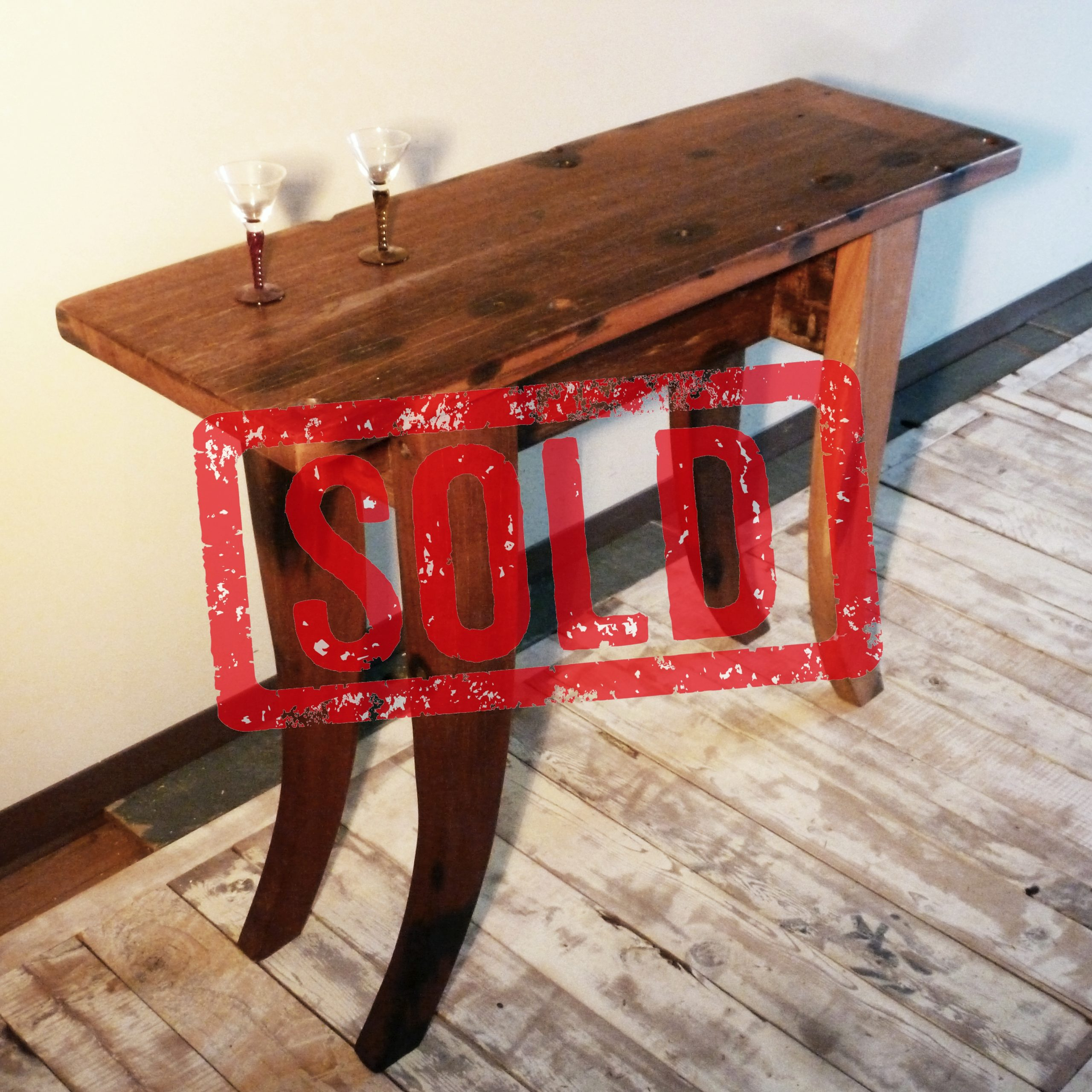 PS110102 sofa table – sold