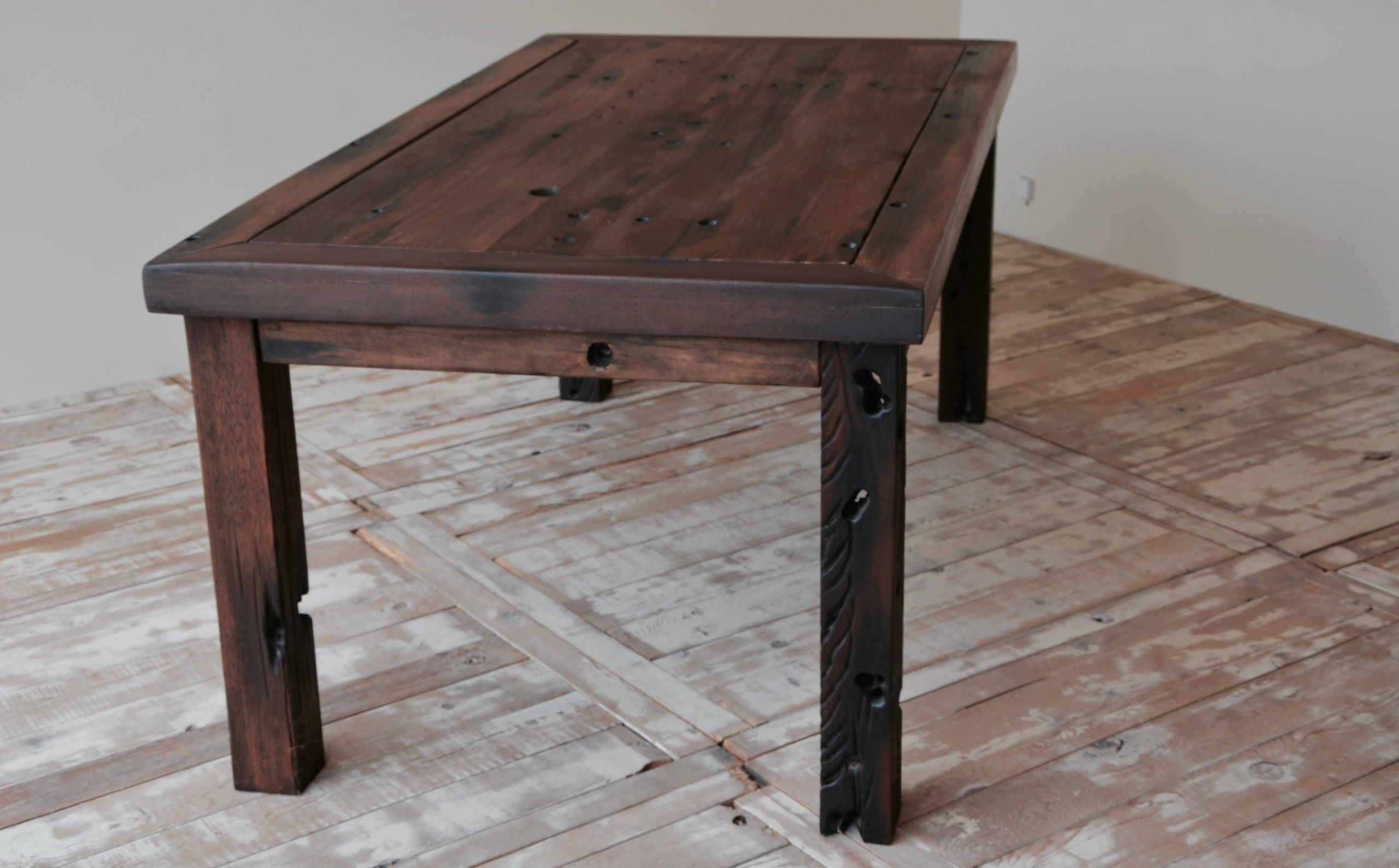 PS9404-CC-4 Reclaimed Old Boat Wood Furniture