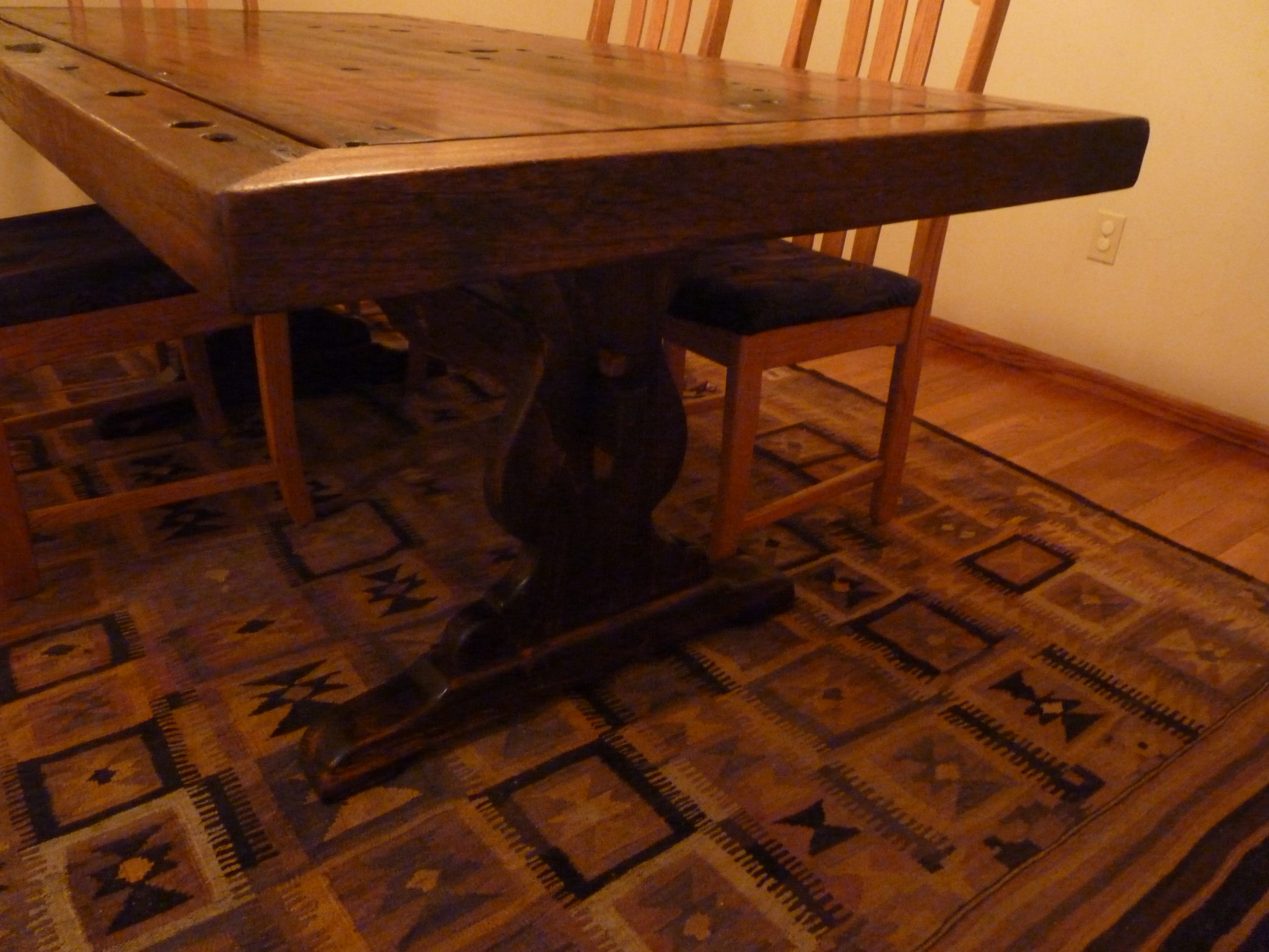 PS9404-TOP-CC-CB-3 Reclaimed Old Boat Wood Furniture